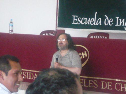Richard Stallman en la ULADECH